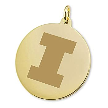 Image of Charms M. LA HART University of Illinois 18K Gold Charm