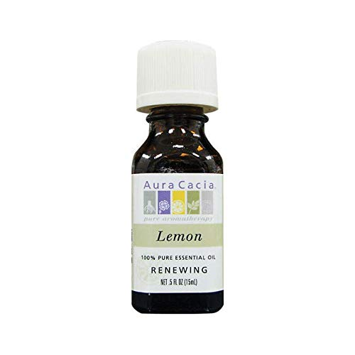 Aura Cacia Essential Oil Lemon, 0.5 oz. ()