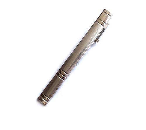 CHENFUI - Clip de Corbata con Forma de bolígrafo (Plata): Amazon ...