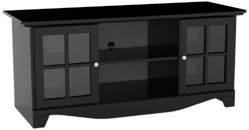 Pinnacle 56-inch TV Stand 101206 from Nexera - Black