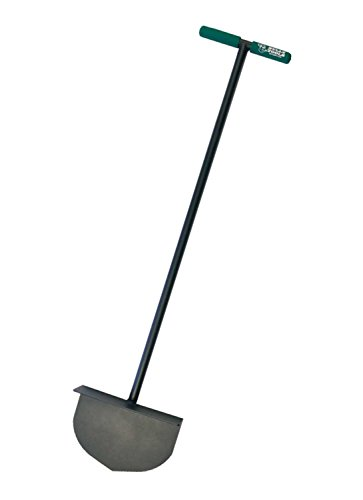 Bully Tools 92251 Round Lawn Edger with Steel T-Style Handle (Fiberglass Cable T-handle)