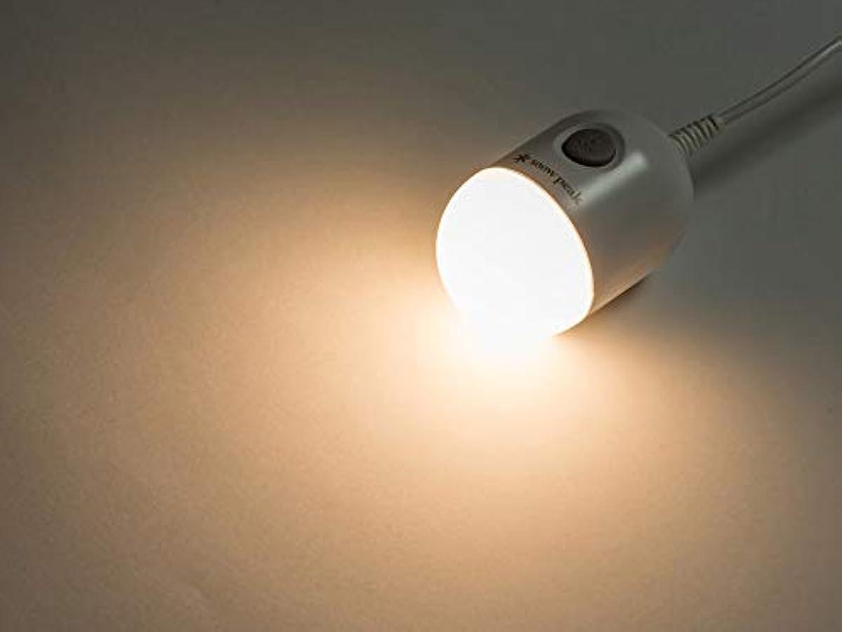 [해외] 스노우피크 충전용 LED 전구 MHG-011