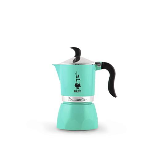 Bialetti Fiammetta – Cafetera de 1 taza, aluminio, Artic Lights