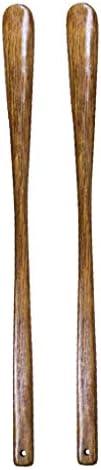 木製 靴べら シューホーン 行動不便者用 ブーツ 靴べらシューズケア ハンギング容易