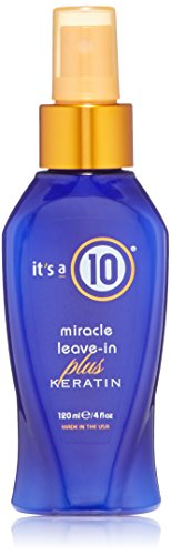 - It's a 10 Haircare Miracle Leave-In Plus Keratin, 4 fl. oz.