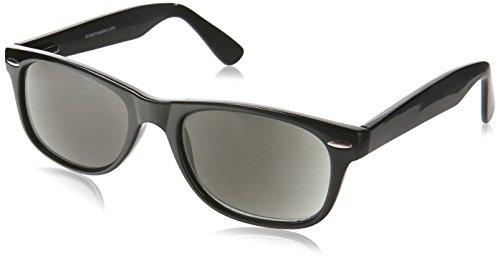 Dr. Dean Edell SLR Black Wayfarer Bifocal Reading Sunglass, +1.50, 0.200 - Bifocal Dr Sunglasses Dean Edell