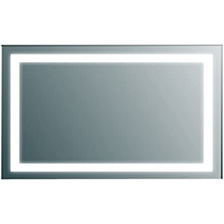 Eviva EVMR34 48 X 30 Lite Wall Mounted Backlit LED Mirror Combination Aluminum