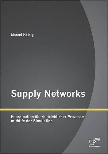 Supply Networks: Koordination überbetrieblicher Prozesse mithilfe der Simulation