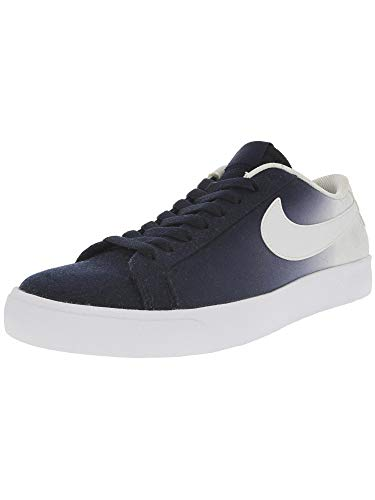 Nike Men's Sb Blazer Vapor Obsidian/White Ankle-High Canvas Skateboarding Shoe - 9M