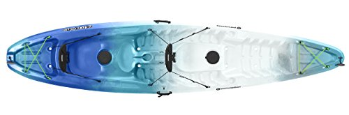 Perception Pescador Sit On Top Tandem Kayak, Sea Spray