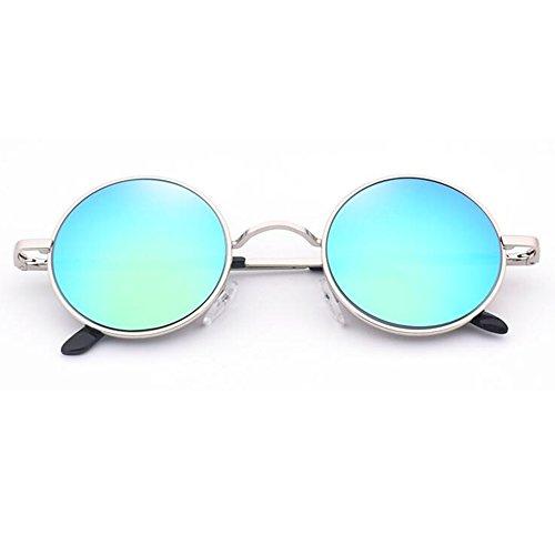 Proteccion Viaje Manejar Sol Color Miopía ZX Ser con Polarizada Redonda UV400 5 Gafas Fiesta Retro Caja De 3 Equipado Luz Diseñador Puede qqH6USwa