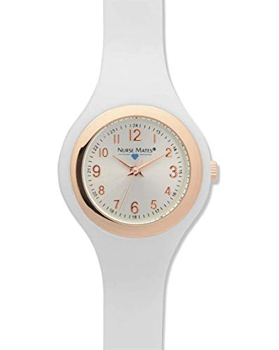 (Nurse Mates - Womens - Uni-Body Slim Watch White)