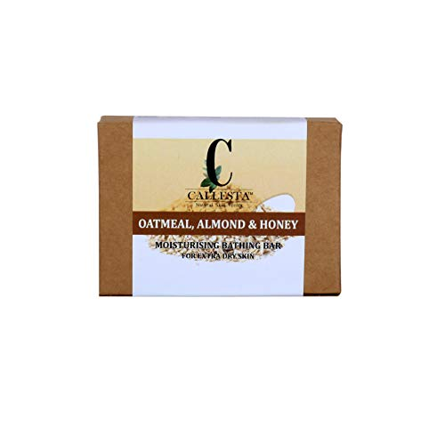 Callesta Dry Skin Defence - Oatmeal, Almond and Honey Soap - Controls Eczema 2021 June Nourishes skin Moisturizes skin Softens skin