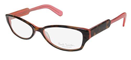 Paul Smith 297 Womens/Ladies Cat Eye Full-rim Designer Comfortable Eyeglasses/Eyewear (52-16-135, Tortoise/Watermelon) (Designer Cat-eye-brillen)