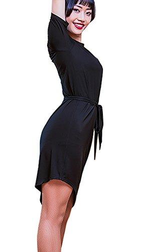 Jupe Valse Jupe Jupes Robe Robe Latine Cha Cha Salle De Bal Rumba Robe Noire