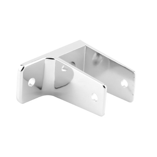Sentry Supply 650-6395 1 Ear Wall Bracket, 1-1/4-Inch, Chrome (Ear Bracket Partition)