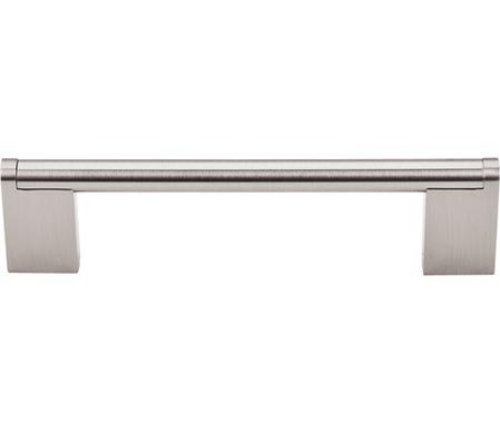 "Top Knobs M1042 Bar Pulls Collection 5-1/16"" Princetonian Bar Pull, Brushed Satin Nickel"