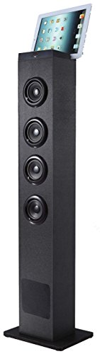 Sylvania SP386 Bluetooth 2.1 Channel Tower Speaker With Built In Subwoofer (Renewed)