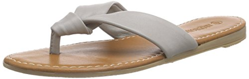 ARQUEONAUTAS 6187 Damen Pantoletten Grau (Light Grey)