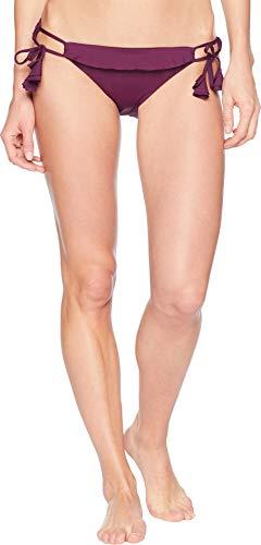 Becca by Rebecca Virtue Women's Socialite Tie Side Pant Merlot Medium