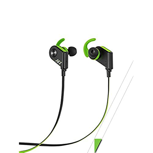 60%OFF audioNiX Sport Bluetooth Wireless Headphones, Perfect Workout Running Cycling Headset, Comfort-fit Soft Earbuds Sound Proof, Sweat-proof, Easy Pairing, Built-In Mic, Travel Case Included