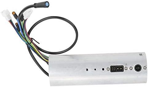 Delaman Tableau de Commande avec contrôleur USB pour Scooter électrique Pliable Xiaomi Ninebot ES2