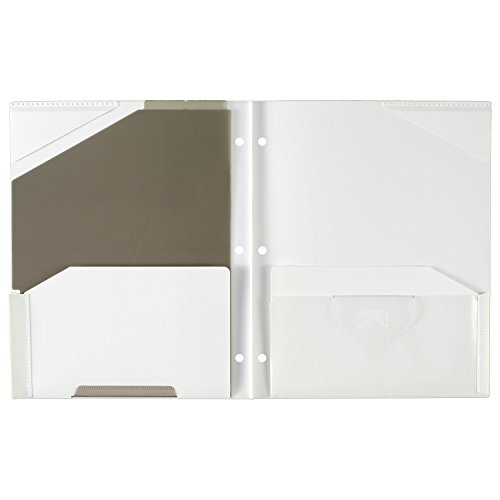 """043100340300 - Five Star Pocket Folder, 2 Pocket Stay-Put Plastic Folder, 11-5/8"""" x 9-5/16"""", Color Selected For You May Vary (34030) carousel main 8"""