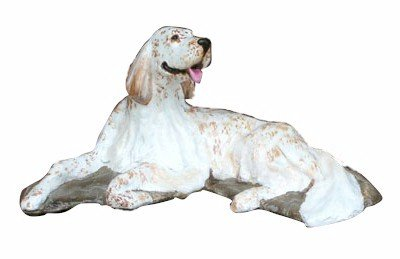 Ron Hevener English Setter Dog - Setter English Dog Figurine