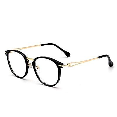 FeliciaJuan Adult Glasses Light Deformation PC Frame Anti-Radiation Blu-ray Optical Glasses