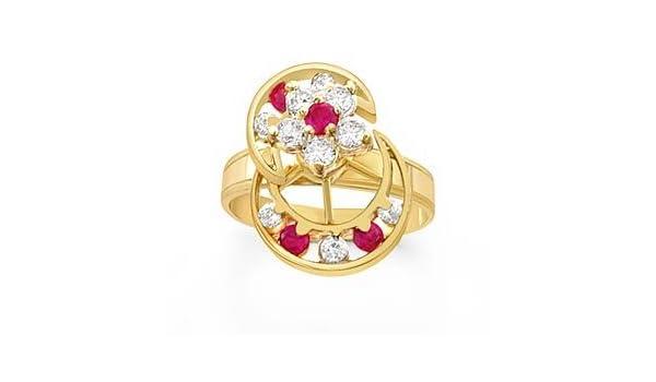 Amazon Motion Rings 14k Yellow Gold Jewelry
