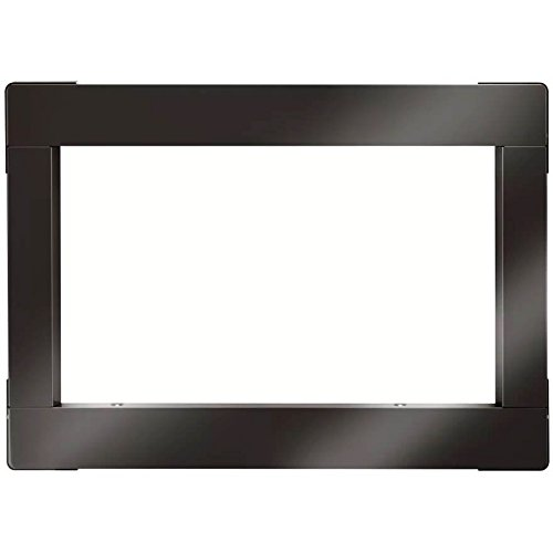 LG MK2030BD 30 Black Stainless Built-in Microwave Trim Kit by LG