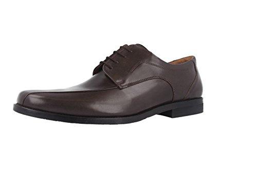 MANZ fermo-business-chaussures pour homme marron chaussures en matelas grande taille