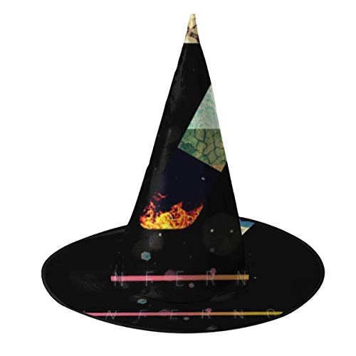 Dantes Inferno 7 Witch Hat Halloween Unisex Costume For Holiday Halloween Christmas Carnivals ()