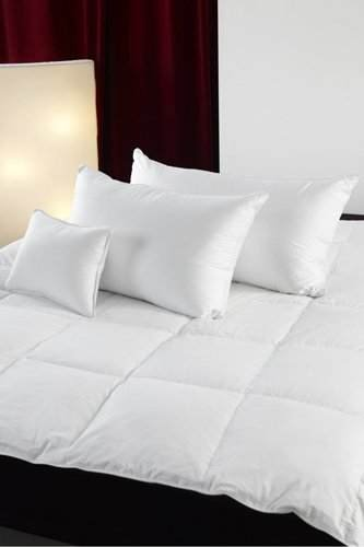 Siberian 800 Fill Power White Goose Down Pillow, (Queen)