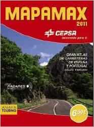 MAPAMAX 2011: Carreteras de Espana y Portugal escala 1:400.000 / Spain and Portugal Roads 1:400, 000 Scale (Spanish Edition): Anaya Touring Club: ...
