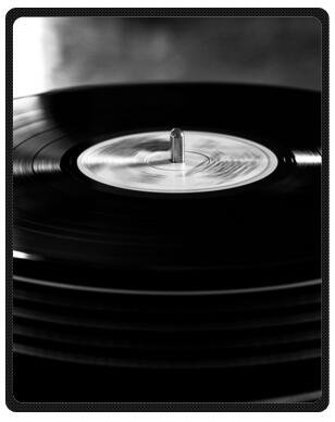 Nueva llegada diseño música Tocadiscos Record manta de viaje manta ...