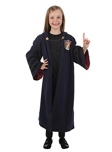elope Fantastic Beasts: The Crimes of Grindelwald Gryffindor Kids Robe One Size Blue]()
