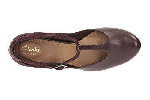 Clarks Chorus Gia, Zapatos de Tacón para Mujer morado