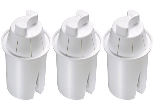 Culligan PR-3U Level 2 Universal Pitcher Filter Replacement, 3-Pack, Single Unit,