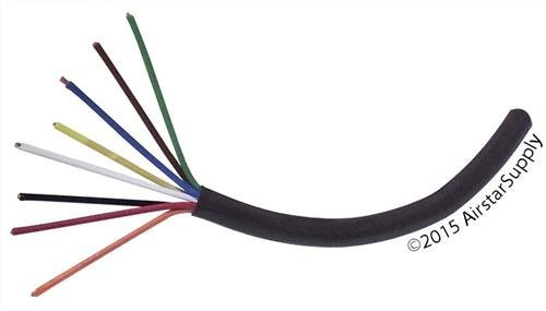 Thermastat Wire | Southwire 18 8 Thermostat Wire 18 Gauge 8 Conductor 50 Foot