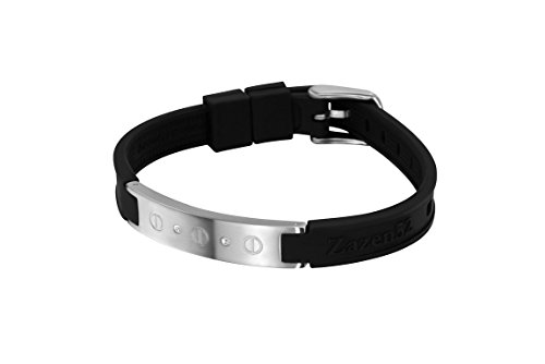Zenturio Limited Diamond Swarovski Element 10mm Edition exclusive magnet/ion/health bracelet – TÜV Rheinland Germany certified – For your health and wellbeing - Without Etui - Exclusive Diamond Jewelry