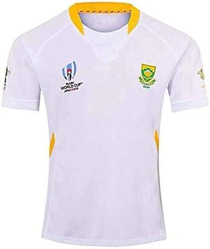 2020 Copa del Mundo Sudáfrica Hombres Rugby Jersey Camisa Rugby Rugby, Camiseta de manga corta para hombre: Amazon.es: Ropa y accesorios