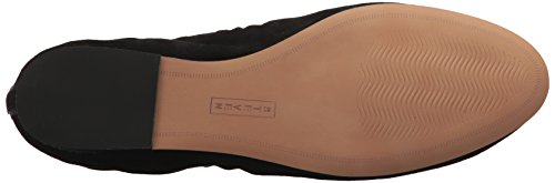 Madden Women's Steve by Black Darsha STEVEN Suede Flat Loafer aTxStwq