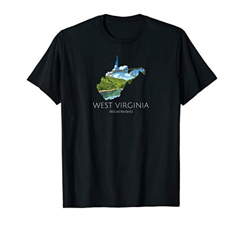 West Virginia Proud State Motto Wild And Wonderful - State Virginia Motto