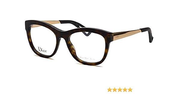 fa33114a3a2 Amazon.com  Christian Dior Women s Eyewear Frames CD 3288 52mm Havana QSH   Clothing