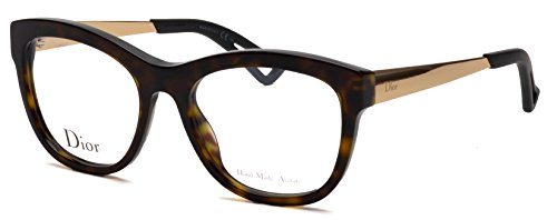 Christian Dior Cd Eyeglasses Frame (Christian Dior Women's Eyewear Frames CD 3288 52mm Havana)