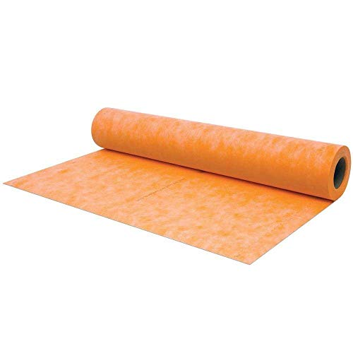 Waterproof Membrane 3.3 ft x 33 ft / 108 square feet / 8 mil- Waterproofing Fabric For Showers, Bathroom, Sauna, Steam Room (3' x 33')