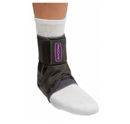 DJO Ankle Support PROCARE Small Hook and Loop Closure Left or Right Foot