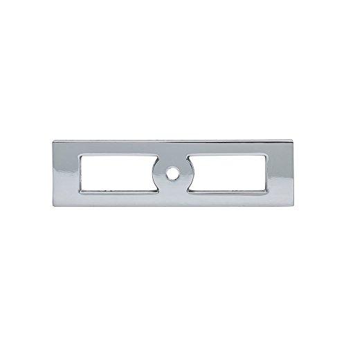 Chrome Knob Backplates - Top Knobs - TK922PC - Hollin Knob Backplate - Polished Chrome - Lynwood Collection