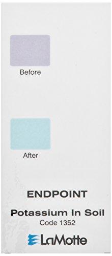 Lamotte 1352 Soil pH Test Kit Color Chart, Potassium, End...
